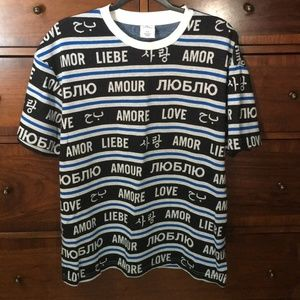 Urban Outfitters Love Language T-shirt